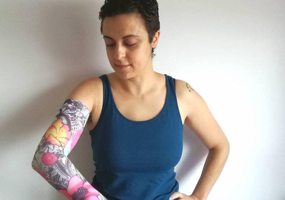 Mi brazo, mi miedo al linfedema, y yo